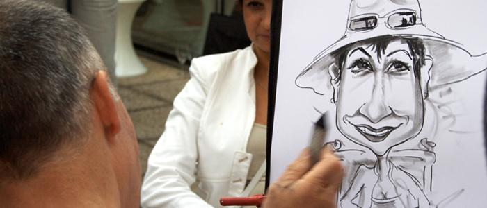 Animation caricaturiste pour vos événements d'entreprise