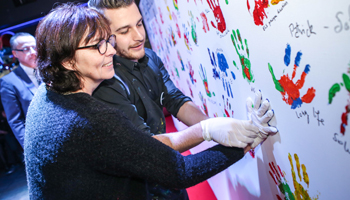 ANIMATION FRESQUE WALL OF FAME