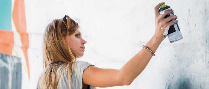 ANIMATION FRESQUE GRAFFITI WALL