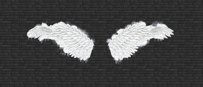 DECOR PHOTO ANGEL WINGS
