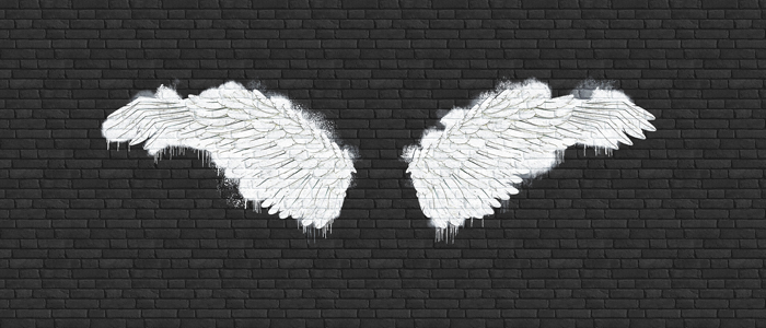 DECOR PHOTO ANGEL WINGS